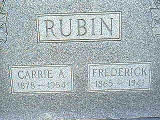 RUBIN, CARRIE A. - Adams County, Iowa | CARRIE A. RUBIN