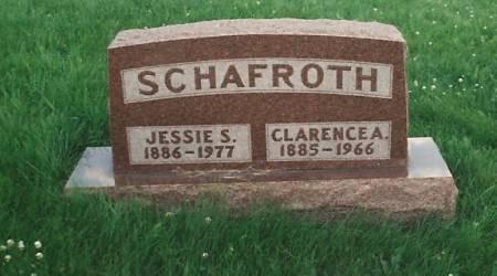 LAWRENCE SCHAFROTH, JESSIE SYDNIA - Adams County, Iowa | JESSIE SYDNIA LAWRENCE SCHAFROTH