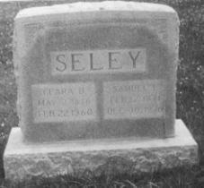 SELEY, CLARA BELLE - Adams County, Iowa   CLARA BELLE SELEY