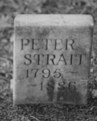 STRAIT, PETER - Adams County, Iowa | PETER STRAIT