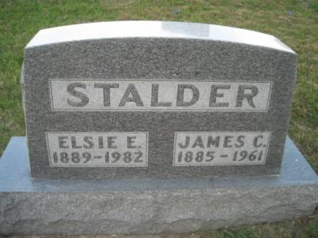 STALDER, JAMES C. - Adams County, Iowa   JAMES C. STALDER