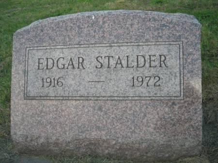 STALDER, EDGAR - Adams County, Iowa   EDGAR STALDER