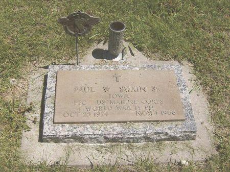 SWAIN, PAUL WILLIAM - Adams County, Iowa   PAUL WILLIAM SWAIN