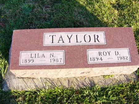 TAYLOR, ROY DAVID - Adams County, Iowa | ROY DAVID TAYLOR