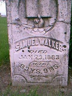 WALKER, SAMUEL - Adams County, Iowa | SAMUEL WALKER