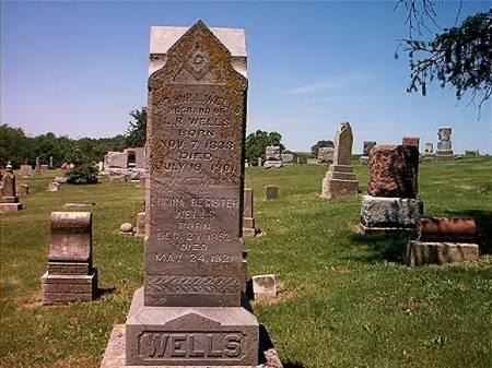 WELLS, ARTHUR LEE - Adams County, Iowa   ARTHUR LEE WELLS