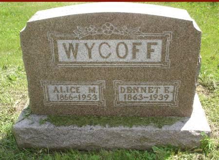 WYCOFF, ALICE M. - Adams County, Iowa | ALICE M. WYCOFF