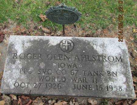 AHLSTROM, ROGER GLEN - Allamakee County, Iowa | ROGER GLEN AHLSTROM