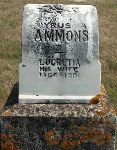 AMMONS, HAROLD - Allamakee County, Iowa | HAROLD AMMONS