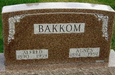 BAKKOM, ALFRED - Allamakee County, Iowa | ALFRED BAKKOM