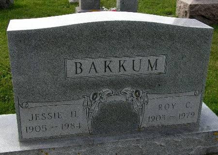 BAKKUM, ROY C. - Allamakee County, Iowa | ROY C. BAKKUM