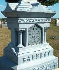 BARCLAY, RAY D. - Allamakee County, Iowa | RAY D. BARCLAY