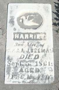 BEEMAN, HARRIET - Allamakee County, Iowa | HARRIET BEEMAN