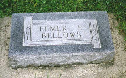 BELLOWS, ELMER E. - Allamakee County, Iowa | ELMER E. BELLOWS