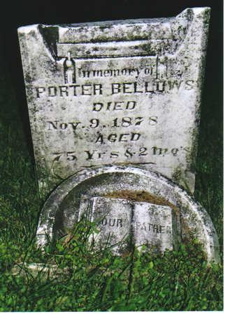 BELLOWS, PORTER - Allamakee County, Iowa | PORTER BELLOWS