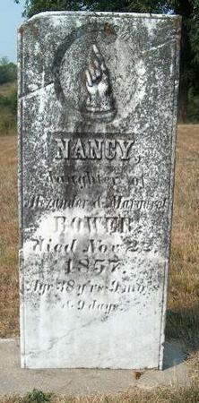 BOWER, NANCY - Allamakee County, Iowa   NANCY BOWER