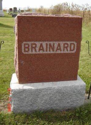BRAINARD, FAMILY STONE (E.R.A.) - Allamakee County, Iowa | FAMILY STONE (E.R.A.) BRAINARD