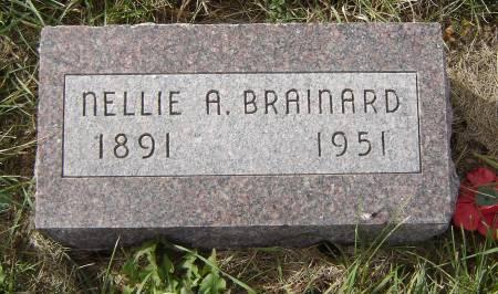 BRAINARD, NELLIE A. - Allamakee County, Iowa | NELLIE A. BRAINARD