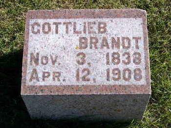 BRANDT, GOTTLIEB - Allamakee County, Iowa   GOTTLIEB BRANDT