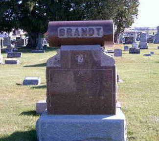 BRANDT, FAMILY TOMBSTONE - Allamakee County, Iowa | FAMILY TOMBSTONE BRANDT
