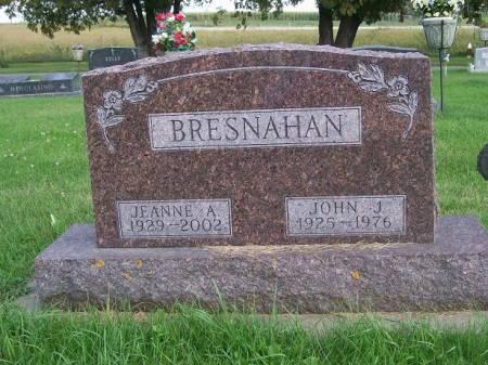 BRESNAHAN, JEANNE A. - Allamakee County, Iowa   JEANNE A. BRESNAHAN