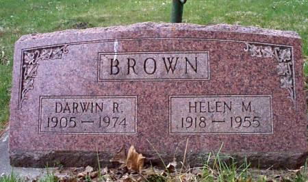 BROWN, HELEN M. - Allamakee County, Iowa | HELEN M. BROWN
