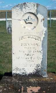 BRYSON, JAMES - Allamakee County, Iowa | JAMES BRYSON