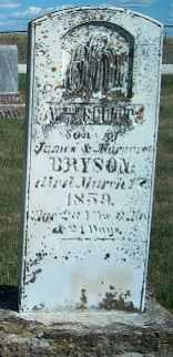 BRYSON, WM SCOTT - Allamakee County, Iowa | WM SCOTT BRYSON