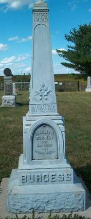 BURGESS, CHARLES H. - Allamakee County, Iowa   CHARLES H. BURGESS