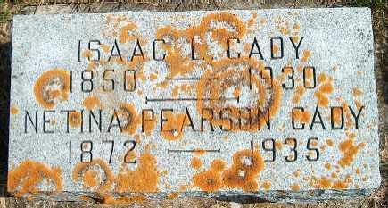 CADY, ISAAC L. - Allamakee County, Iowa | ISAAC L. CADY