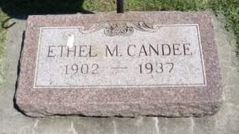 CANDEE, ETHEL M. - Allamakee County, Iowa | ETHEL M. CANDEE
