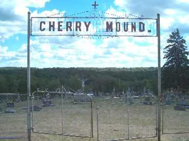 CHERRY MOUND, CEMETERY - Allamakee County, Iowa | CEMETERY CHERRY MOUND
