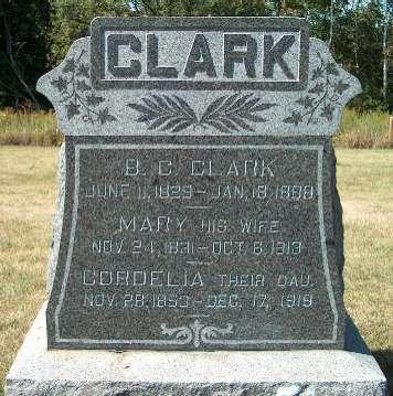 CLARK, MARY - Allamakee County, Iowa | MARY CLARK