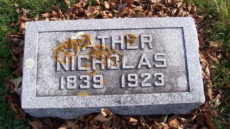 COLSCH, NICHOLAS - Allamakee County, Iowa | NICHOLAS COLSCH