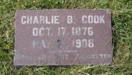 COOK, CHARLIE B. - Allamakee County, Iowa   CHARLIE B. COOK