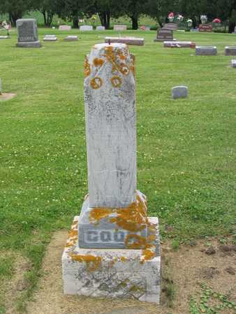 COOK, FAMILY MARKER - Allamakee County, Iowa | FAMILY MARKER COOK