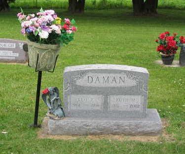 DAMAN, RUTH M - Allamakee County, Iowa | RUTH M DAMAN
