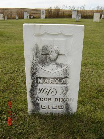 DIXON, MARY A. - Allamakee County, Iowa | MARY A. DIXON