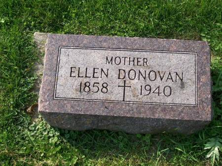 DONOVAN, ELLEN - Allamakee County, Iowa | ELLEN DONOVAN