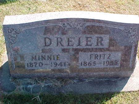 DREIER, FRITZ - Allamakee County, Iowa | FRITZ DREIER