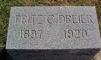 DREIER, FRITZ  C. - Allamakee County, Iowa   FRITZ  C. DREIER