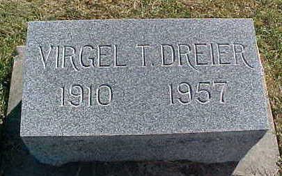 DREIER, VIRGIL - Allamakee County, Iowa | VIRGIL DREIER