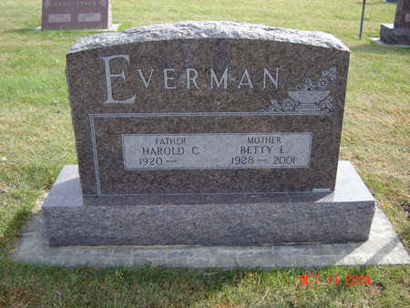 EVERMAN, BETTY L. - Allamakee County, Iowa | BETTY L. EVERMAN