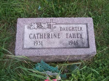 FAHEY, CATHERINE - Allamakee County, Iowa   CATHERINE FAHEY