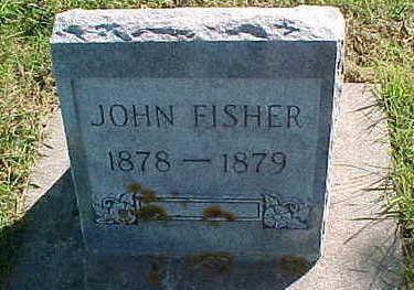 FISHER, JOHN - Allamakee County, Iowa   JOHN FISHER