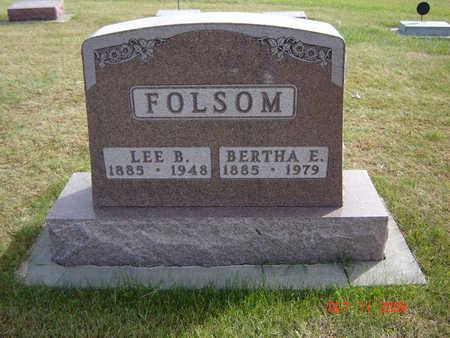 HAMMEL FOLSOM, BERTHA E. - Allamakee County, Iowa | BERTHA E. HAMMEL FOLSOM