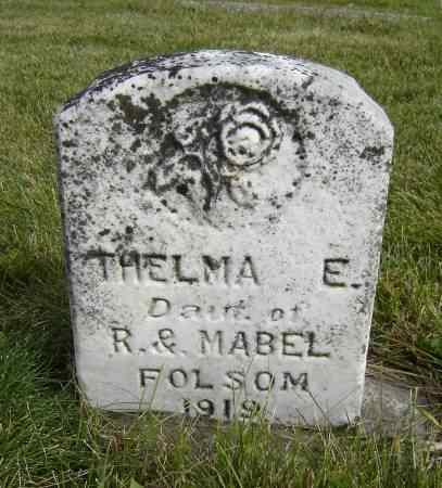 FOLSOM, THELMA E. - Allamakee County, Iowa | THELMA E. FOLSOM