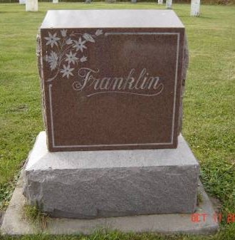 FRANKLIN, FAMILY STONE (O.D.) - Allamakee County, Iowa | FAMILY STONE (O.D.) FRANKLIN
