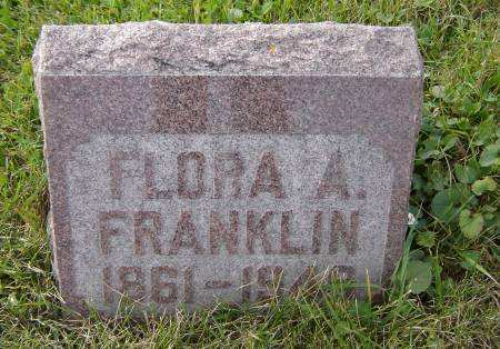 COOK FRANKLIN, FLORA A. - Allamakee County, Iowa | FLORA A. COOK FRANKLIN
