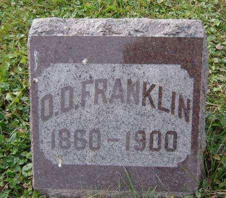 FRANKLIN, O. D. - Allamakee County, Iowa | O. D. FRANKLIN